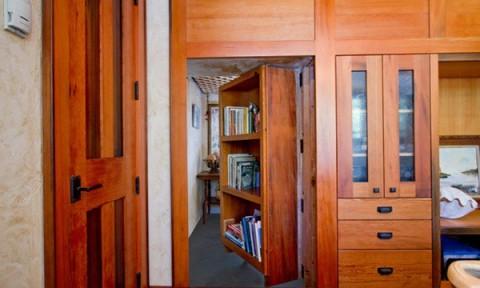 Độc đáo thiết kế phòng bí mật ẩn sau đồ nột thất