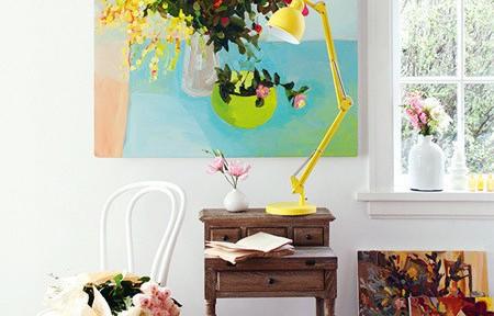 Ngôi nhà thêm hương vị với hoa tươi trang trí