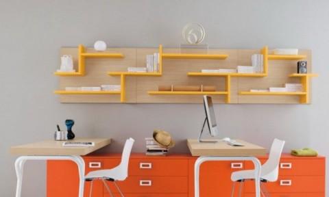 Những mẫu thiết kế bàn học phòng trẻ độc đáo