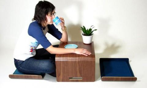 """4 mẫu bàn ghế khiến phòng khách nhỏ """"quyến rũ"""" hơn"""