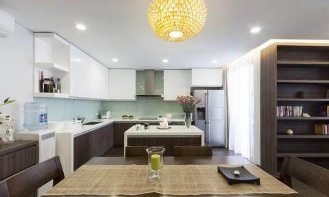 Cải tạo căn hộ 120 m2 thoáng rộng hơn