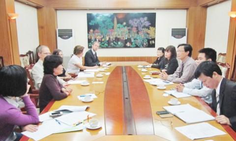 Nâng cao hợp tác đào tạo nghề ngành Xây dựng giữa Đức và Việt Nam