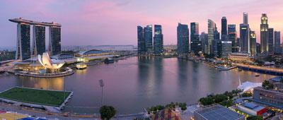 Singapore dẫn đầu tăng trưởng văn phòng Châu Á Thái Bình Dương