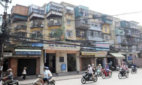 Giải thoát bế tắc, tái thiết chung cư cũ