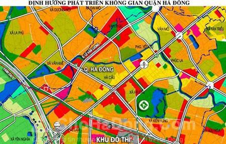 Duyệt quy hoạch sử dụng đất quận Hà Đông đến 2020