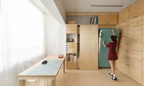 Căn hộ studio 20m2 với thiết kế siêu thông minh