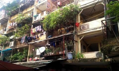 Bất cập trong công tác cải tạo, xây dựng lại nhà tập thể cũ ở Hà Nội