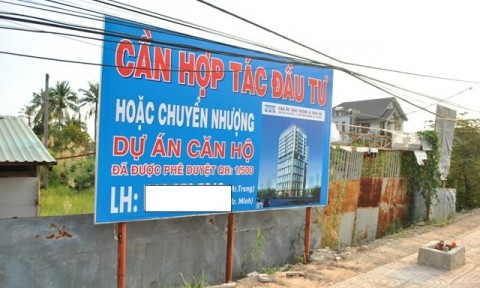 Chuyển nhượng dự án bất động sản không dễ
