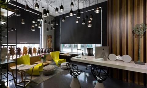Văn phòng kiến trúc ấn tượng sử dụng phong cách nội thất chiết trung