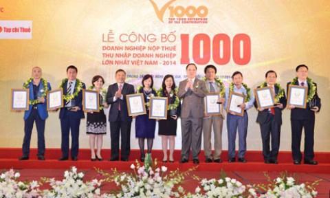 Vingroup vào top 10 doanh nghiệp nộp thuế lớn nhất Việt Nam