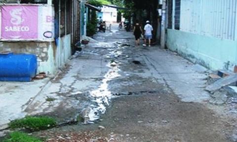 """TP Quy Nhơn: Có một con đường bị """"lãng quên""""!"""