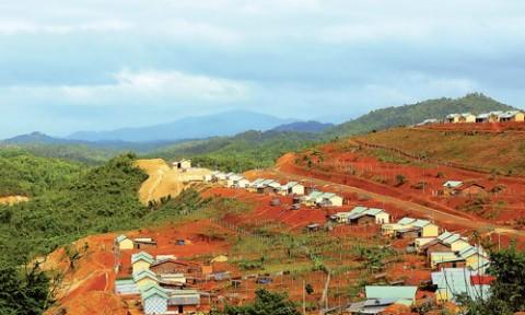 Để kiến trúc tái định cư nông thôn phục vụ chương trình xây dựng Nông thôn mới