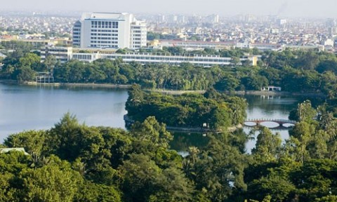 Hà Nội sẽ xây bãi đỗ xe 10.000 m2 trong Công viên Thống Nhất (?)