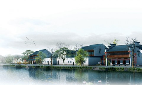 Mô hình đô thị làng quê ở Trung Quốc