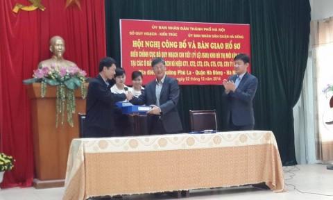Công bố điều chỉnh cục bộ quy hoạch chi tiết ĐTM Văn Phú