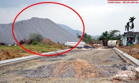 Cần nhanh chóng di dời các mỏ đá tại khu đô thị Phước Lý
