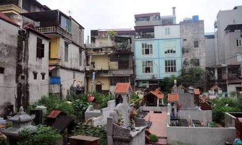 Tác hại khi làm nhà gần nghĩa địa