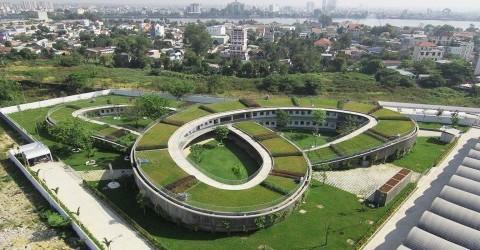 Nhà trẻ Farming Kindergarten của Vo Trong Nghia Architects đạt Công trình Kiến trúc của năm do Archdaily tổ chức