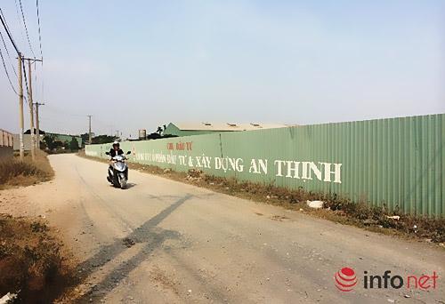 Dự án Khu dân cư Bà Điểm do Công ty An Thịnh làm chủ đầu tư tại huyện Hóc Môn, TP.HCM