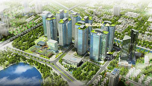 Dự án Goldmark City có giá bình quân 2,7 tỷ đồng/căn hộ