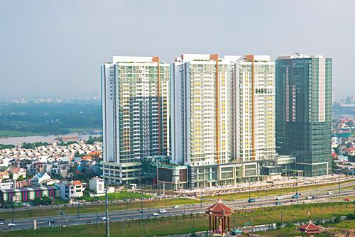 Khu phức hợp căn hộ và văn phòng cao cấp The Vista tại quận 2, TP Hồ Chí Minh
