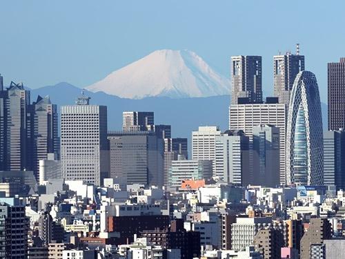 Một góc thủ đô Tokyo, Nhật Bản. (Nguồn: AFP/TTXVN)