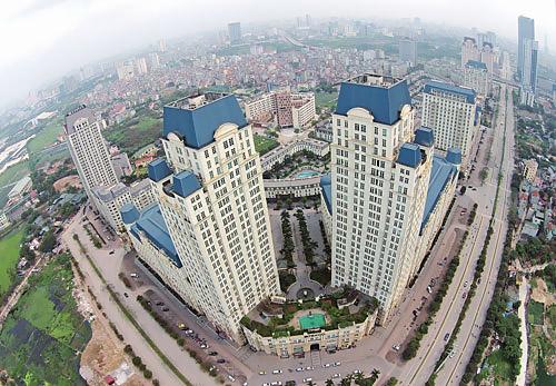 Chung cư cao tầng tại Hà Nội