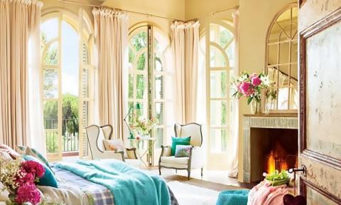 Phòng ngủ đẹp như tranh vẽ