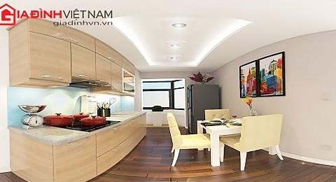 Trang trí nội thất gỗ cho phòng ngủ và phòng bếp