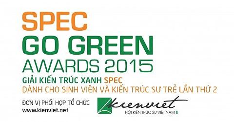 Thông cáo báo chí: Phát động giải thưởng Spec Go Green Awards 2015