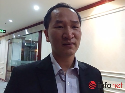 """Ông Phạm Đức Toản tiết lộ: """"Quan chức, công chức ngoại tỉnh mua nhà ở Hà Nội rất nhiều"""". Ảnh: Nguyễn Lê"""