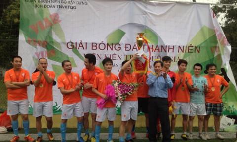 Viện kiến trúc Quốc gia Tổ chức giải bóng đá thanh niên lần thứ I
