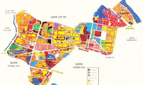 Hà Nội: Duyệt kế hoạch sử dụng đất quận Ba Đình với gần 925ha