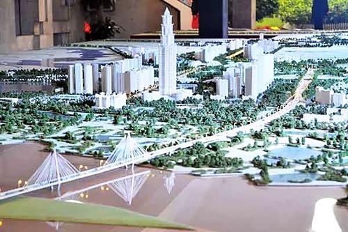 Đồ án Quy hoạch chi tiết xây dựng 2 bên tuyến đường Nhật Tân- Nội Bài (Ảnh: Phú Khánh)