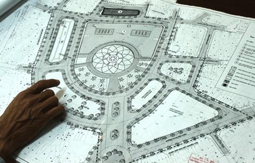 Khu chợ Đầm tròn sẽ quy hoạch xây đài phun nước