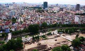 Giá bồi thường GPMB tại dự án xây dựng đường Vành đai 2 (đoạn Nhật Tân - Xuân La - Bưởi - Cầu Giấy), trên địa bàn quận Ba Đình cao nhất là 108 triệu đồng/m2