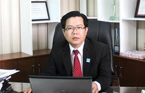 Ông Đoàn Chí Thanh, Tổng giám đốc Công ty Địa ốc Hoàng Anh  Sài Gòn