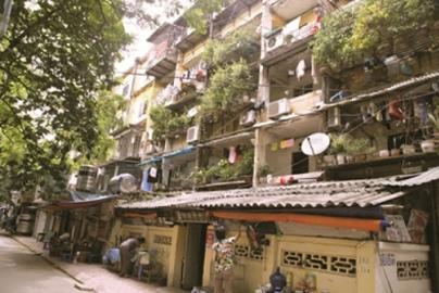 Tư duy mới trong cải tạo chung cư cũ
