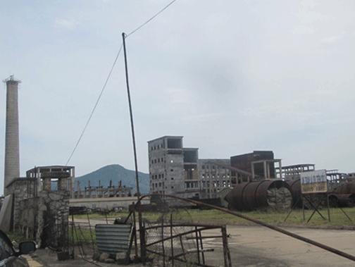Nhà máy thép Vạn Lợi chết yếu từ năm 2010, nay sẽ bị khai tử. Ảnh: TRẦN TUẤN