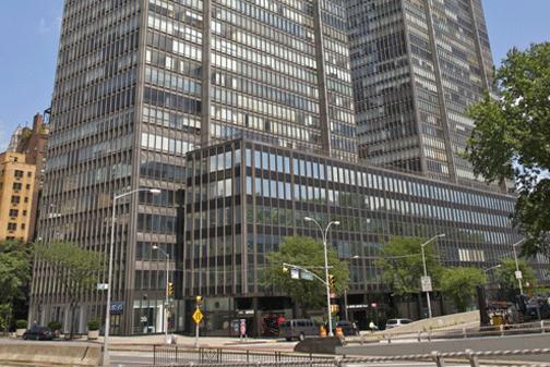 Một tòa nhà chung cư tích hợp văn phòng ở New York. Ảnh: Getty Images