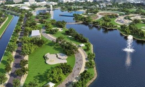 Hồ điều hòa Hạ Đình - một điểm cộng về hạ tầng an sinh khiến dự án trở nên đắt giá