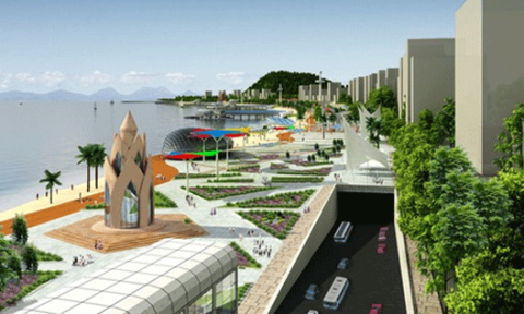 Ngừng dự án công viên bãi biển Phượng Hoàng – Nha Trang