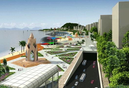 Dự án công viên Phượng Hoàng trên bãi biển Nha Trang sẽ bị ngừng