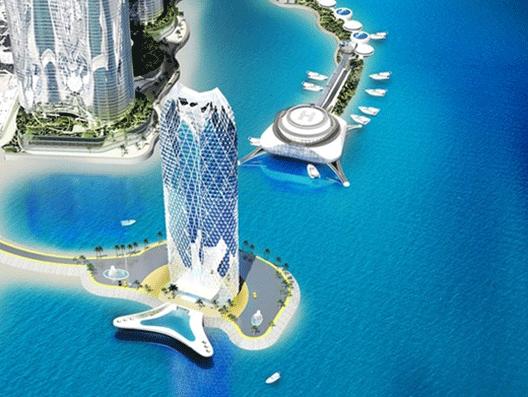 Các tòa cao tầng phía Nam cầu Trần Phú vẫn được Dewan đầu tư