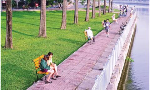 Những dòng kênh giữa lòng Sài thành (K1): Công viên bờ kênh