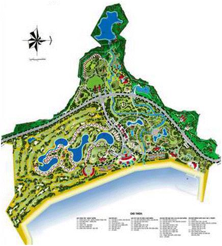 Phối cảnh dự án khu du lịch khách sạn nghỉ dưỡng Vĩnh Hội.