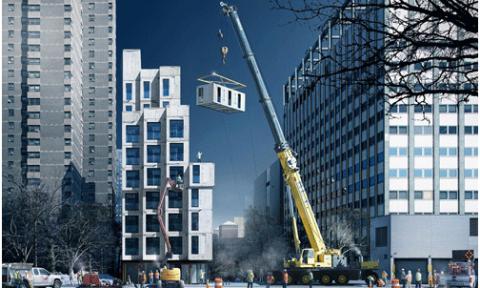 New York nghiên cứu xây căn hộ siêu nhỏ