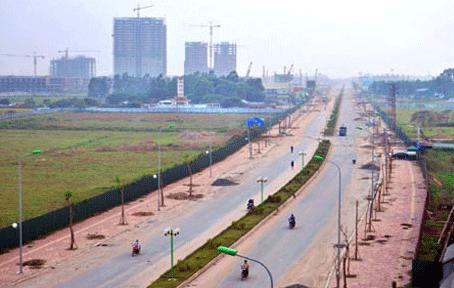 Xác định ranh giới quy hoạch các khu đất dịch vụ trong tháng 6/2015