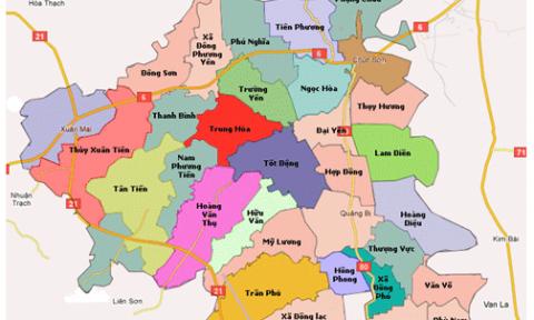Hà Nội: Quy hoạch chung xây dựng 1/10.000 huyện Chương Mỹ
