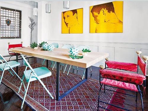 Căn phòng này là sự minh chứng cho khả năng kết hợp khéo léo nhiều phong cách sẽ đem tới một căn phòng đẹp.